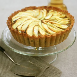 Apple and Custard Flan