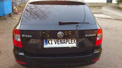 Photo: Skoda Superb przyciemnianie szyb kraków małopolska folia b.ciemna Black 05 z Atestem i Gwarancją 7 letnią zapraszamy na www.venaplex.pl