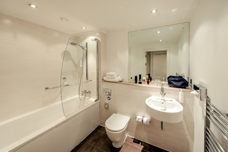 Bathroom at Premier Suites  Manchester