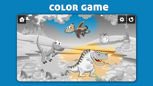 Dinosaur Scratch & Color for kids & toddlers  screenshots 3