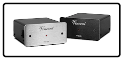 PHO-200, Hybrid Stereo Integrated Amplifier, from Vincent Audio in the UK