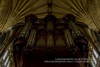 Photo: Exeter Cathedral - organ and ceiling (2). Captured @ Exeter, Devon, England, United Kingdom