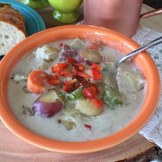 Dairy Free Potato Leek Soup