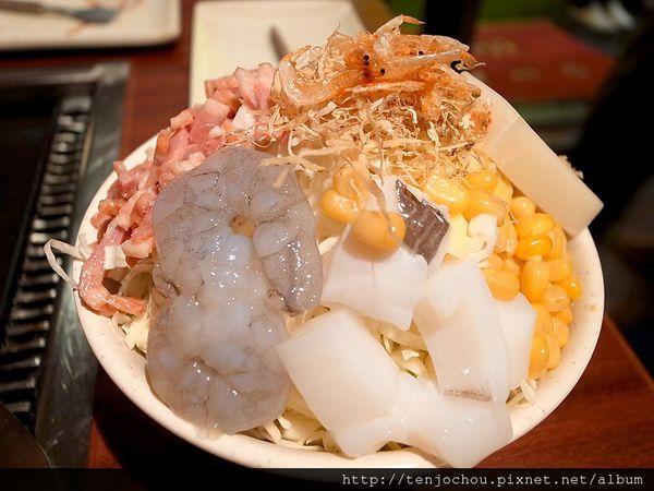 月島文字燒 好吃又好玩的平價餐廳 東區聚餐美食推薦