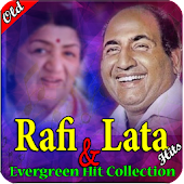 Lata and Rafi Sadabahar Old Songs