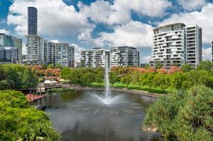 Roma Street Parkland in Brisbane