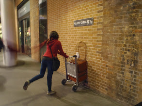 Photo: Harry Potter Style ! At London Kings X train station