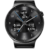 Black Metal HD Watch Face
