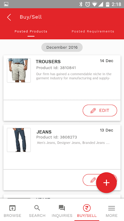 Tradeindia App- screenshot