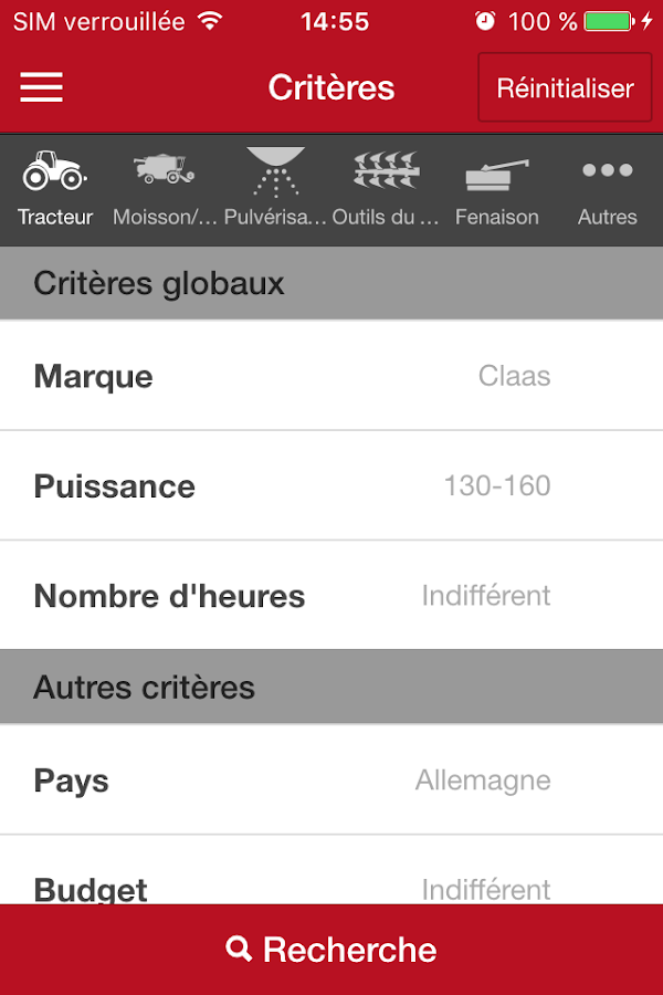 Terre-net Occasions - annonces- screenshot