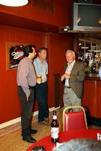 Photo: Peter Nabi, Chris Healey, and George Carscallen