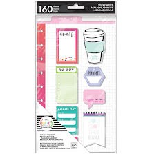 Me & My Big Ideas Happy Planner Sticky Notes 160/Pkg - Mom Life