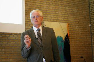 Photo: Foredrag ved Jens Thøsing om guldalderen på Sjælland.