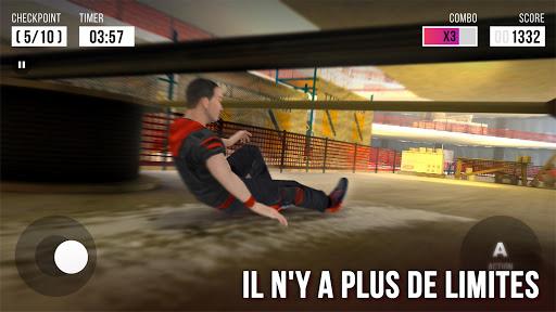 Télécharger Gratuit Parkour Simulator 3D - Trucs Extrêmes APK MOD (Astuce) screenshots 4