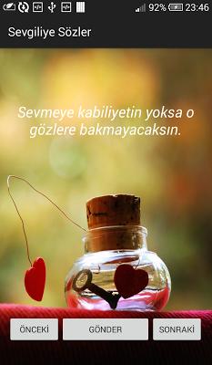 Sevgiliye Güzel Mesajlar - screenshot