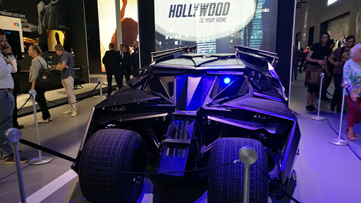 The Batmobile makes its appearance at IFA 2019.