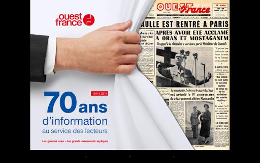 70 ans d'actu Ouest-France