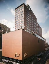 Photo: Terrace Plaza Hotel, Location: Cincinnati OH, Architect: Skidmore Owings & Merrill.