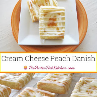 Cream Cheese Peach Danish