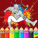Coloring Game New: Superhero Man icon