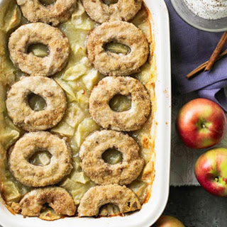 Doughnut-Apple Cobbler