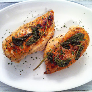 Chicken Breast with Mint.