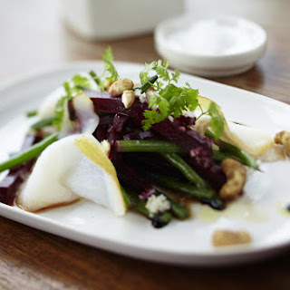 Beet and Smoked Halibut Salad