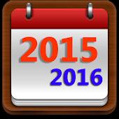 US Calendar Note 2015 - 2016
