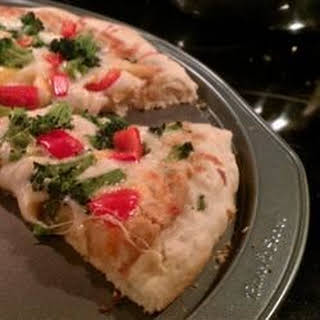 Garlic Lover's Pizza Crust for the Bread Machine.