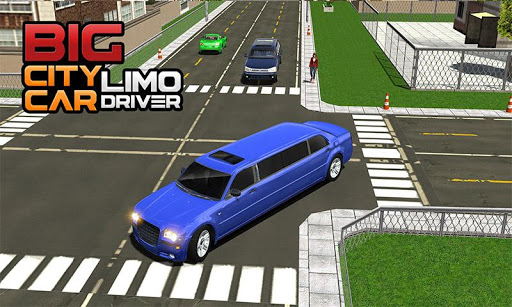 Big City Limo Car Driving Simulator : Taxi Driving 3.8 screenshots 4
