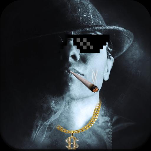 Thug Life Camera Icon