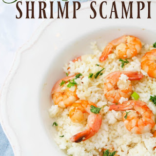 Instant Pot Shrimp Scampi.