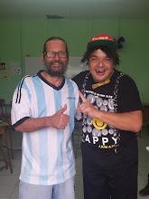 Juanka Galindo visitó CAI Gerardo Rodríguez