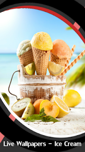 Live Wallpapers - Ice Cream - náhled