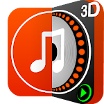 DiscDj 3D Music Player - Dj Mixer Icon