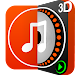 DiscDj 3D Music Player Beta icon