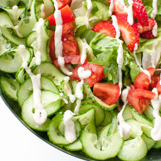 Salad Dressing with No Oil and Vinegar.