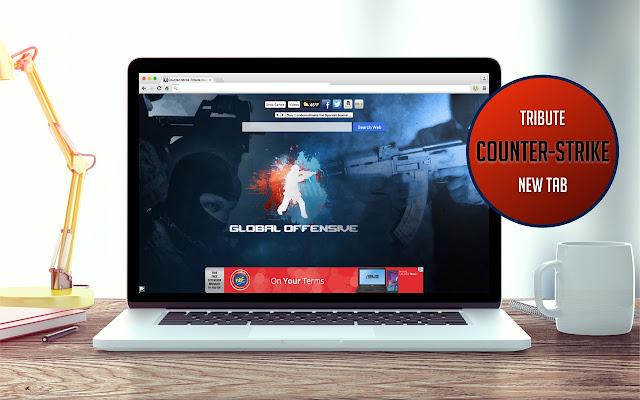 Counter-Strike Tribute New Tab
