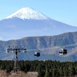 Fuji-san is one of the