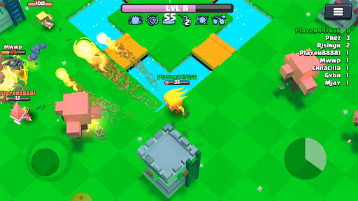 Warlock.io : Action Arena Io Game 0.13 screenshots 1