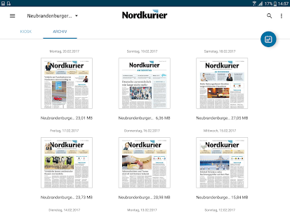 Nordkurier- screenshot thumbnail