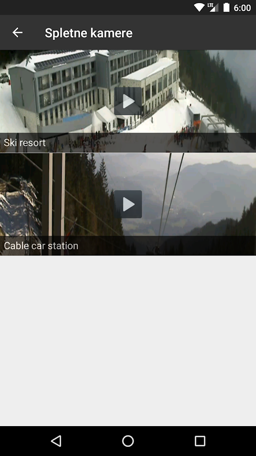 Golte Ski Resort- screenshot