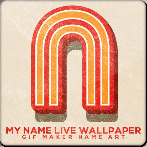 My Name Live Wallpaper : GIF Maker Name Art - Apps on Google