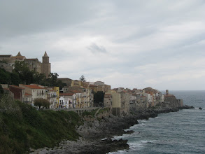 Photo: Cefalú from direction of Harbour