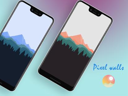 Pixel walls Screenshot