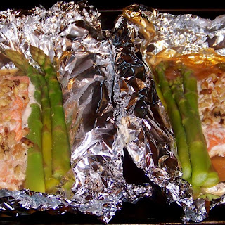 Taking the Night Off with This Easy Honey Dijon Salmon and Asparagus