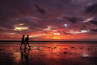 Photo: Fishermen at Kuta Beach, Bali - Indonesia by Helminadia Ranford http://www.helminadia.net/ https://plus.google.com/u/0/111699855306814304937/posts