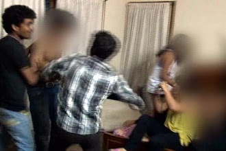 Photo: Mangalore moral policing case: 8 accused arrested http://t.in.com/fqv2