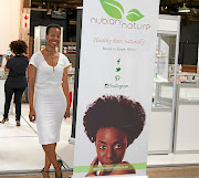 Shereen Makhanye is the proud owner of Nubian Nature products.