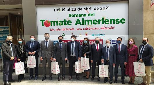 Almería se convierte hasta el viernes en la capital del tomate